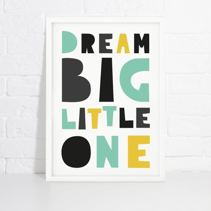 Foto de Lámina de decoración DREAM BIG