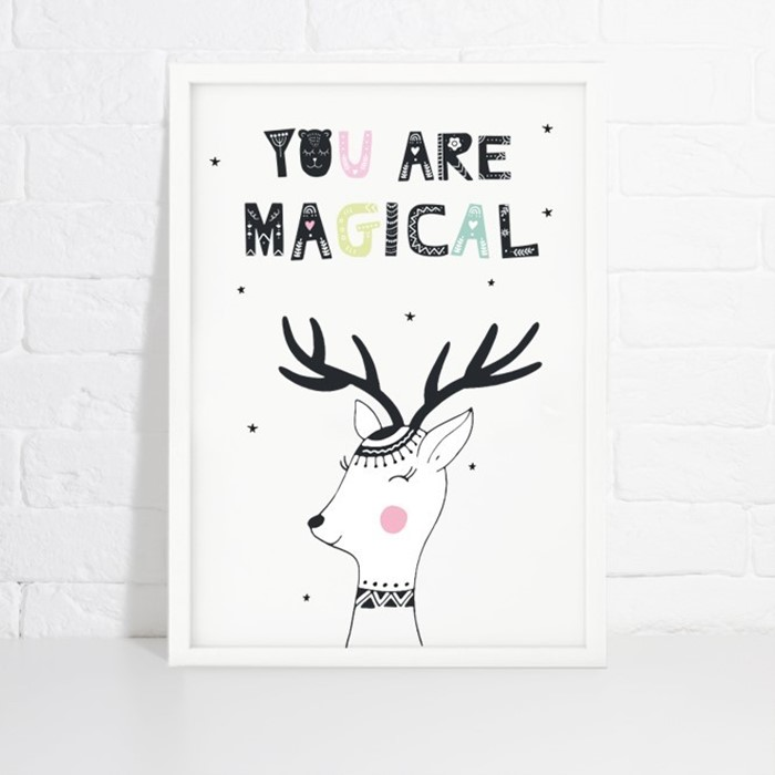 Foto de Lámina de decoración YOU ARE MAGICAL
