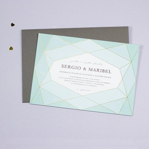 Foto de Invitación de boda DIAMOND