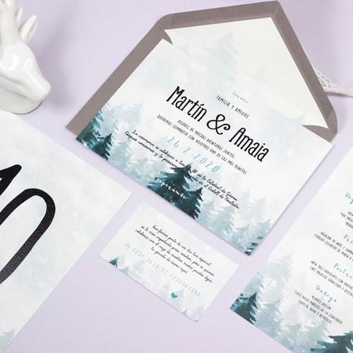 Foto de Invitación de boda ANNE