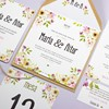 Foto de Invitación de boda BLOSSOM