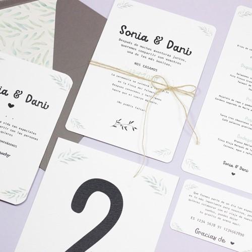 Foto de Invitación de boda BRIZE