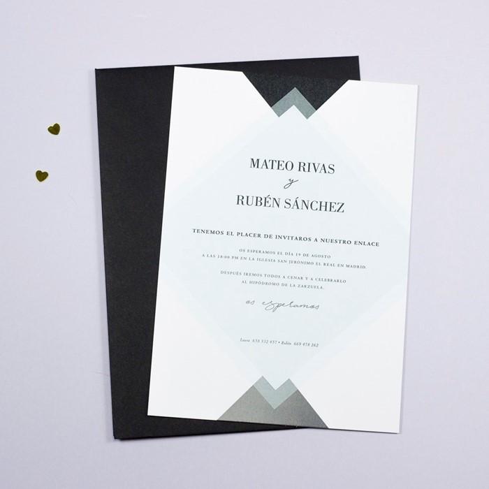 Foto de Invitación de boda BROOKE