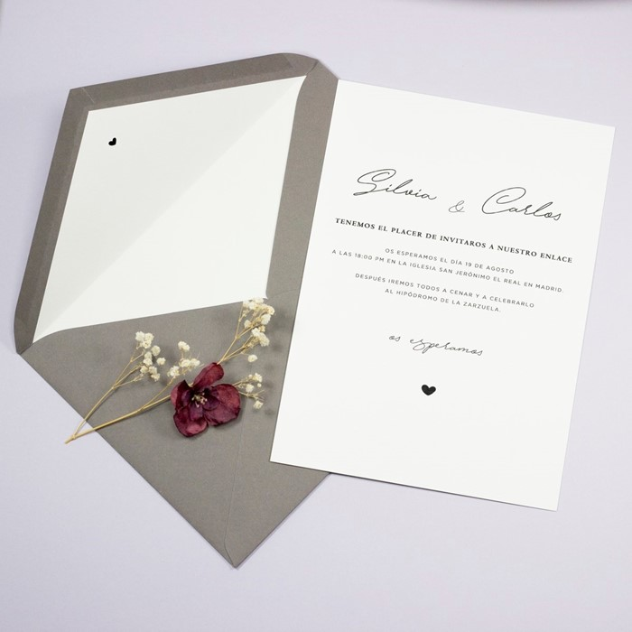 Foto de Invitación de boda CHARLIZE