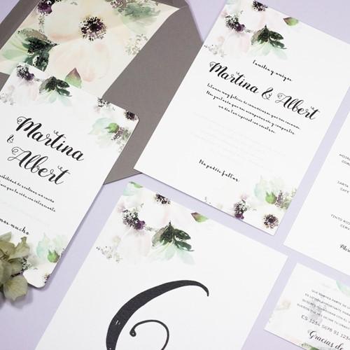 Foto de Invitación de boda CLAUDINE
