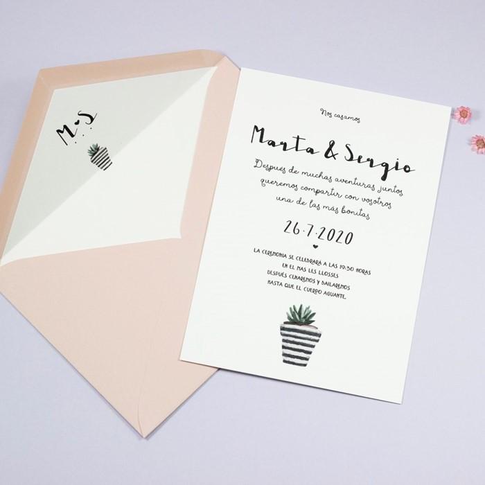 Foto de Invitación de boda JULIETTE