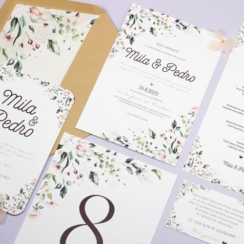 Foto de Invitación de boda KARINE
