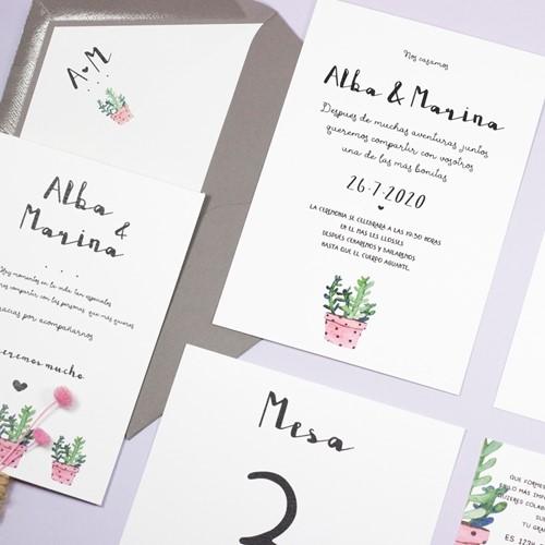 Foto de Invitación de boda MINA
