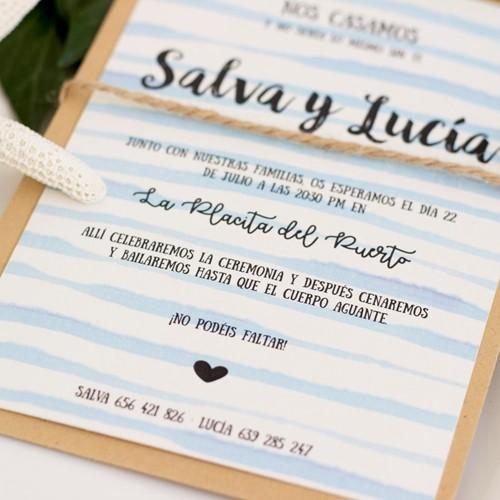 Foto de Invitación de boda SASHA
