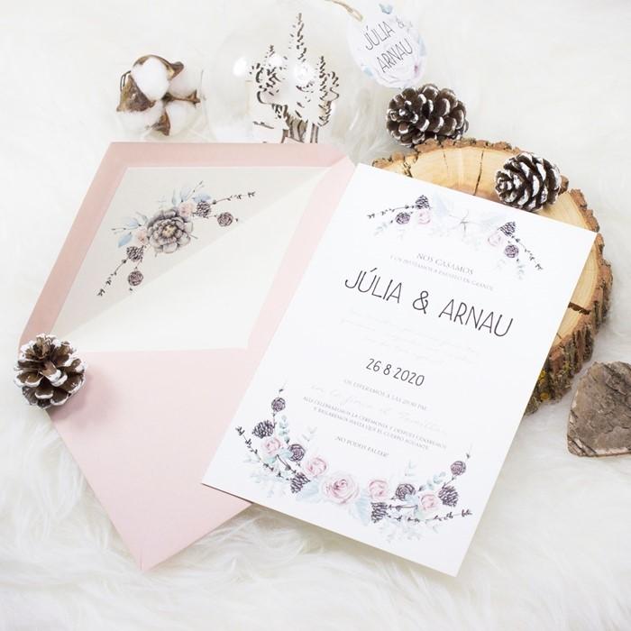 Foto de Invitación de boda VELVET