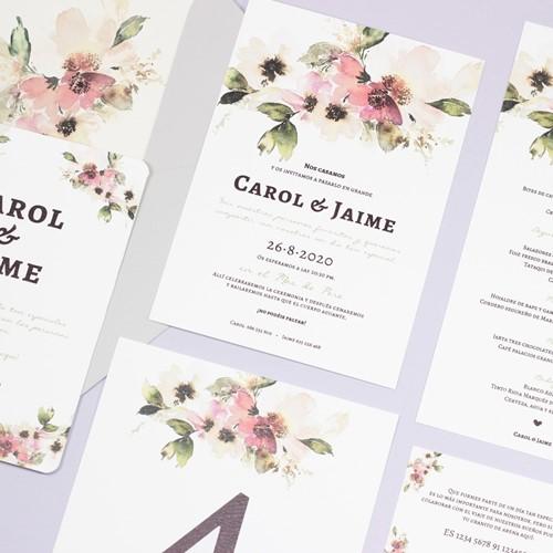 Foto de Invitación de boda CARINA