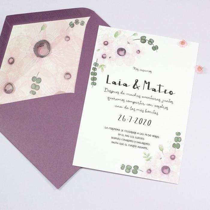 Foto de Invitación de boda CLAIRE