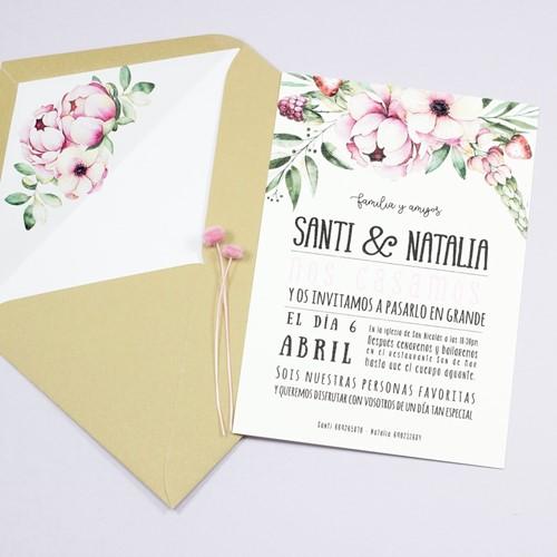 Foto de Invitación de boda ELIETTE