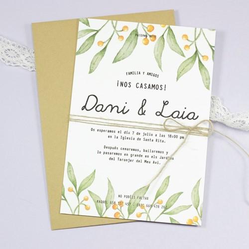 Foto de Invitación de boda GISELLE