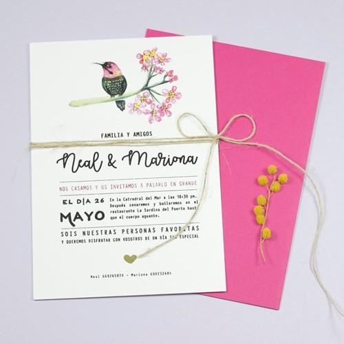 Foto de Invitación de boda IVETTE