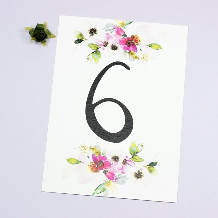 Foto de Número de mesa DANIELA