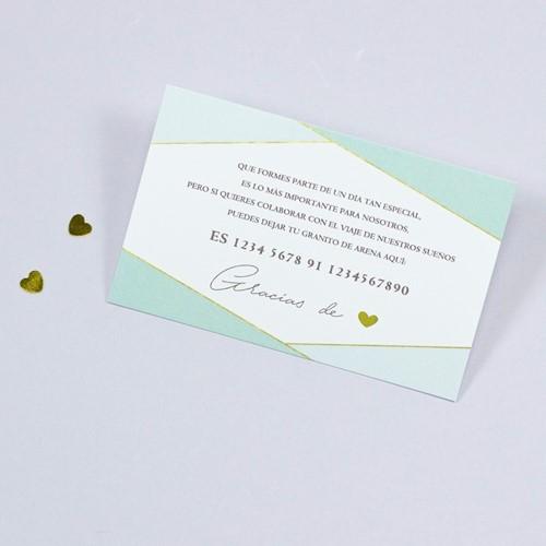 Foto de Tarjeta número de cuenta DIAMOND
