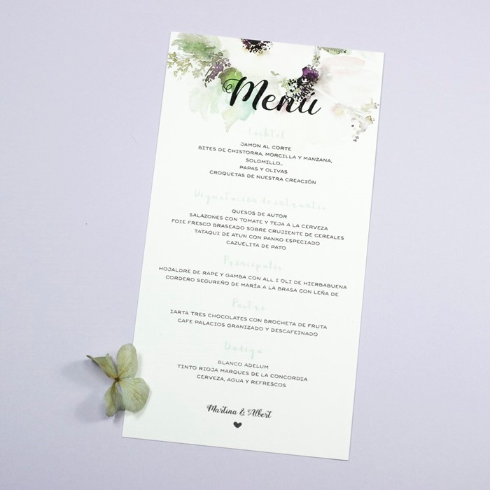 Foto de Minuta de boda CLAUDINE