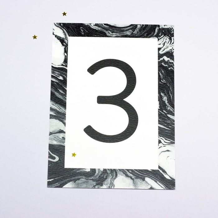 Foto de Número de mesa ADRIEN