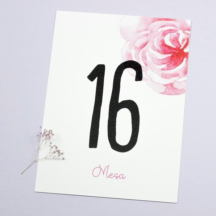 Foto de Número de mesa AMELIE