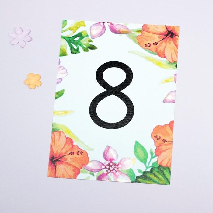 Foto de Número de mesa BAHAMA MAMA