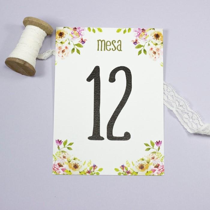 Foto de Número de mesa BLOSSOM