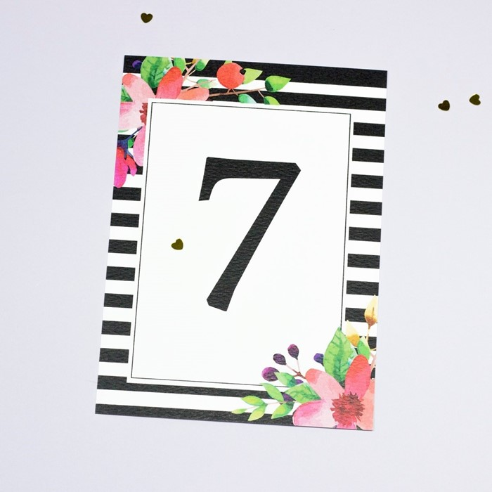 Foto de Número de mesa BRIGITTE
