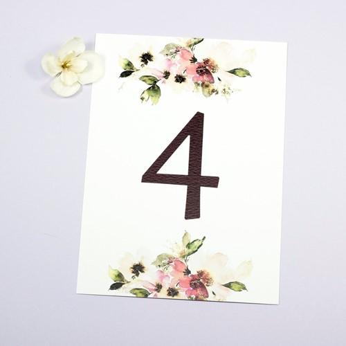 Foto de Número de mesa CARINA