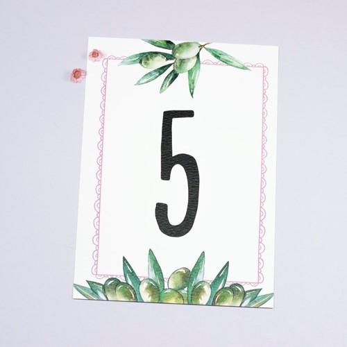Foto de Número de mesa COSETTE