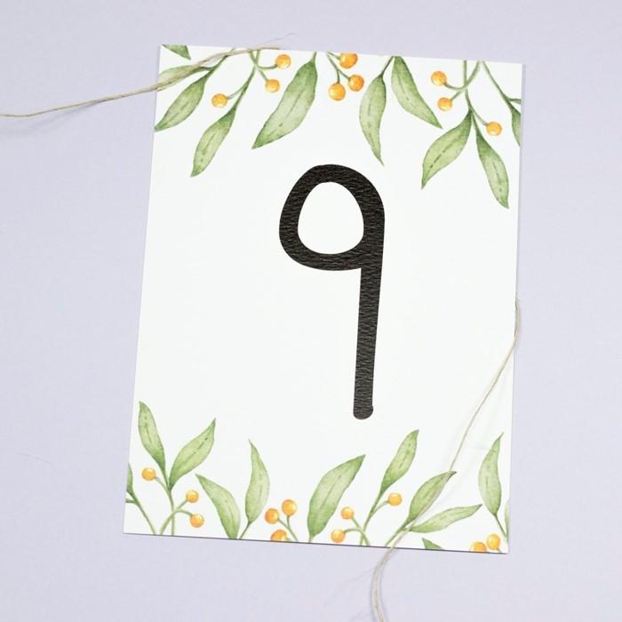 Foto de Número de mesa GISELLE