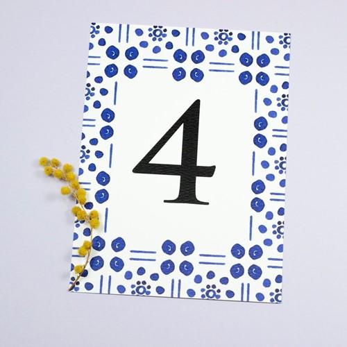 Foto de Número de mesa MACARENA