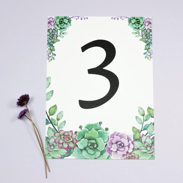 Foto de Número de mesa MARIETTE