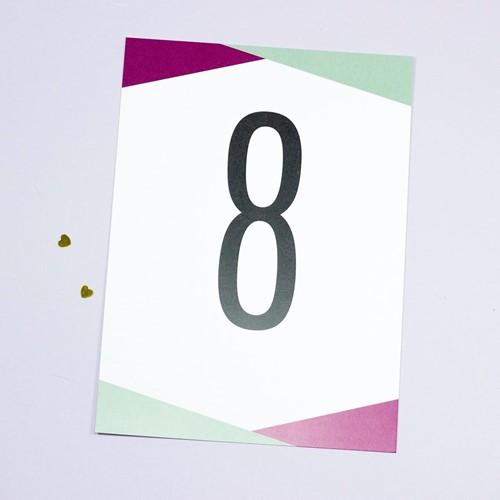 Foto de Número de mesa NICOLLE