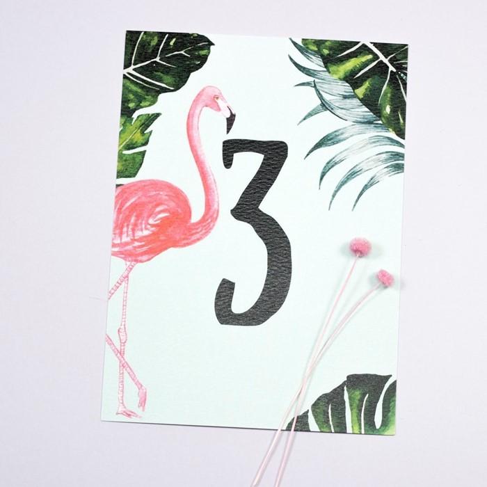Foto de Número de mesa PINK BIRD