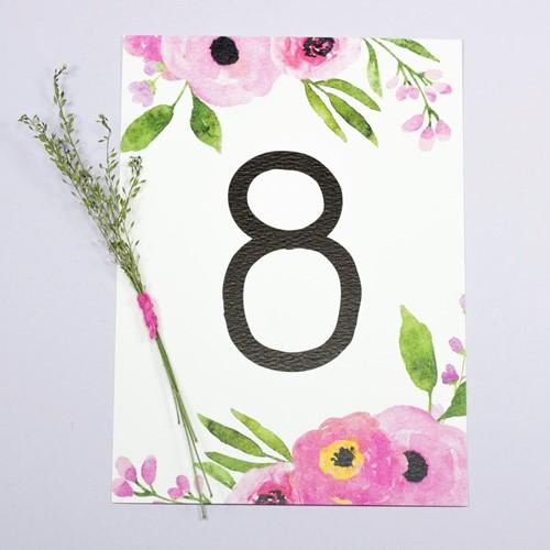 Foto de Número de mesa VALERIA