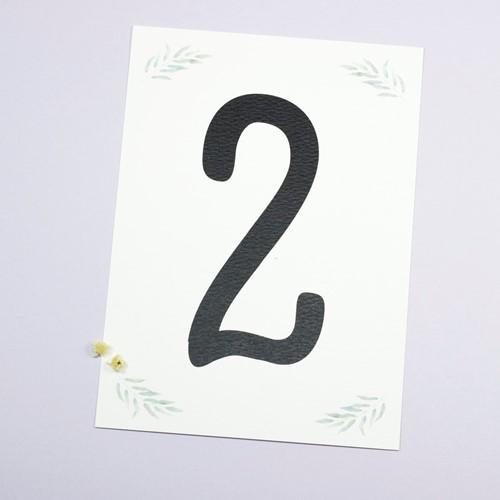 Foto de Número de mesa BRIZE
