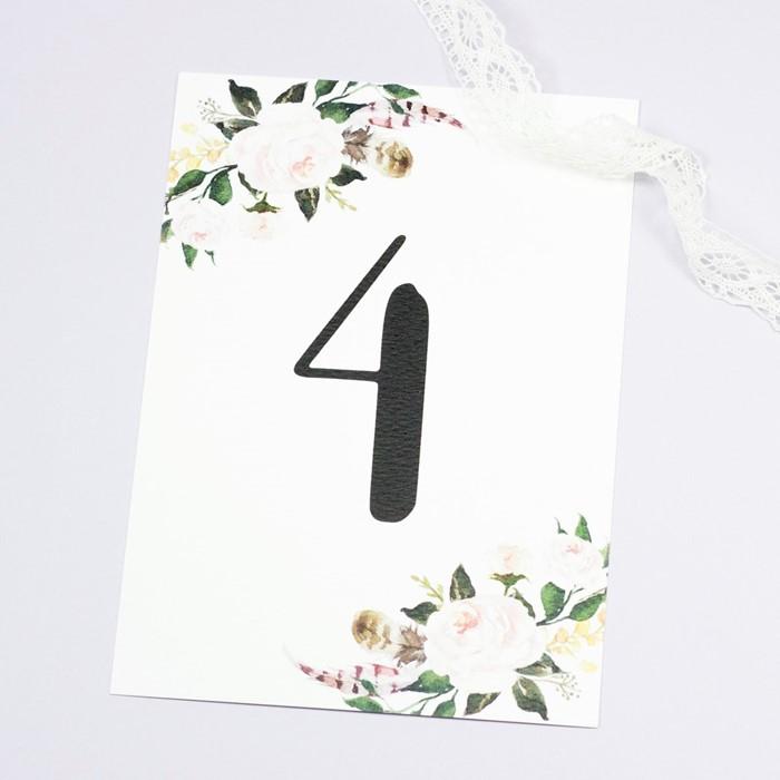 Foto de Número de mesa CHLOÉ