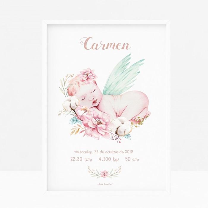 Foto de Lámina de nacimiento BABY  ANGEL