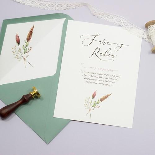 Foto de Invitación de boda AMAIA