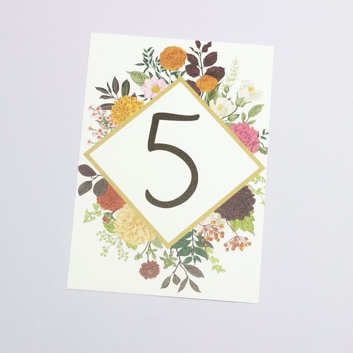 Foto de Número de mesa ANOUKA