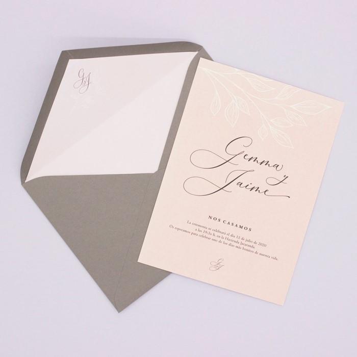 Foto de Invitación de boda LÉA