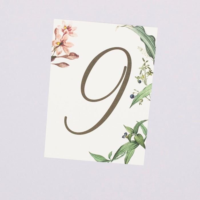 Foto de Número de mesa MARIE