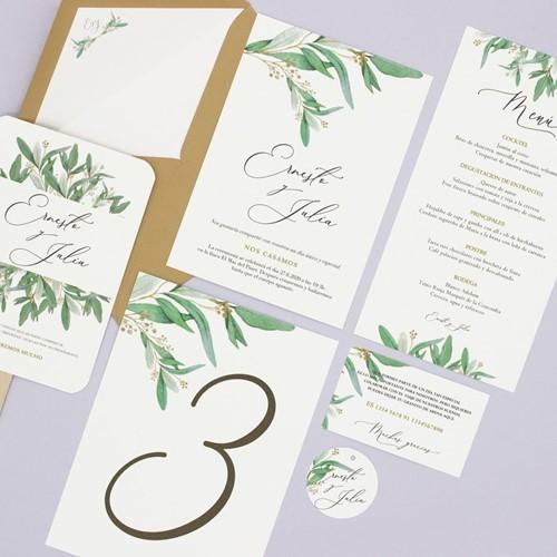 Foto de Invitación de boda CÉCILE