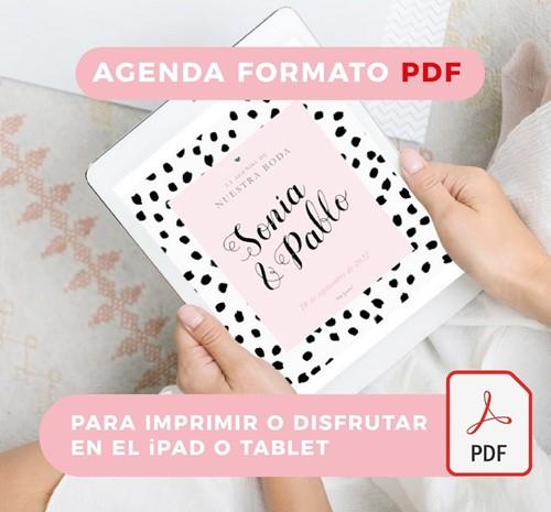 Foto de La agenda de nuestra boda - iPad o imprimir